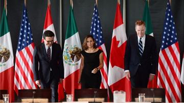 NAFTA trade ministers